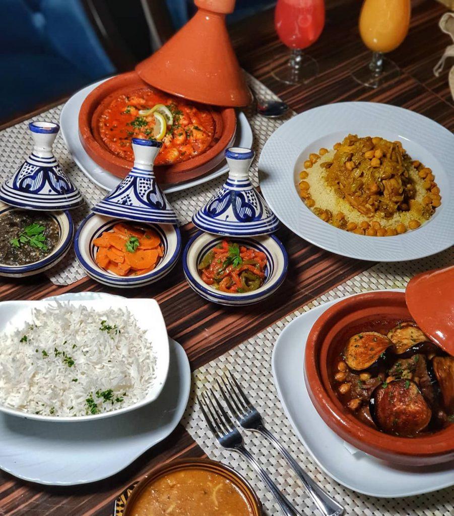 مطعم بيت المذاق المغربي