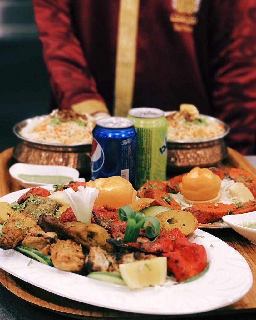 مطعم تاج محل فرع البشر في القصيم