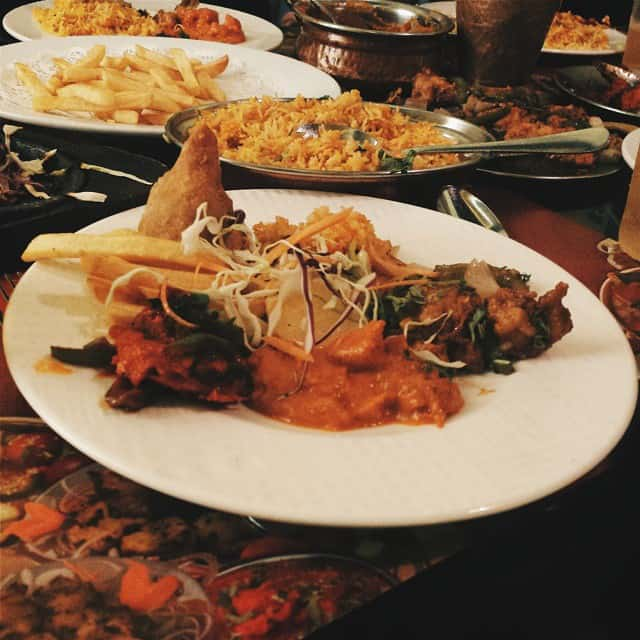 مطعم الكوخ الهندي