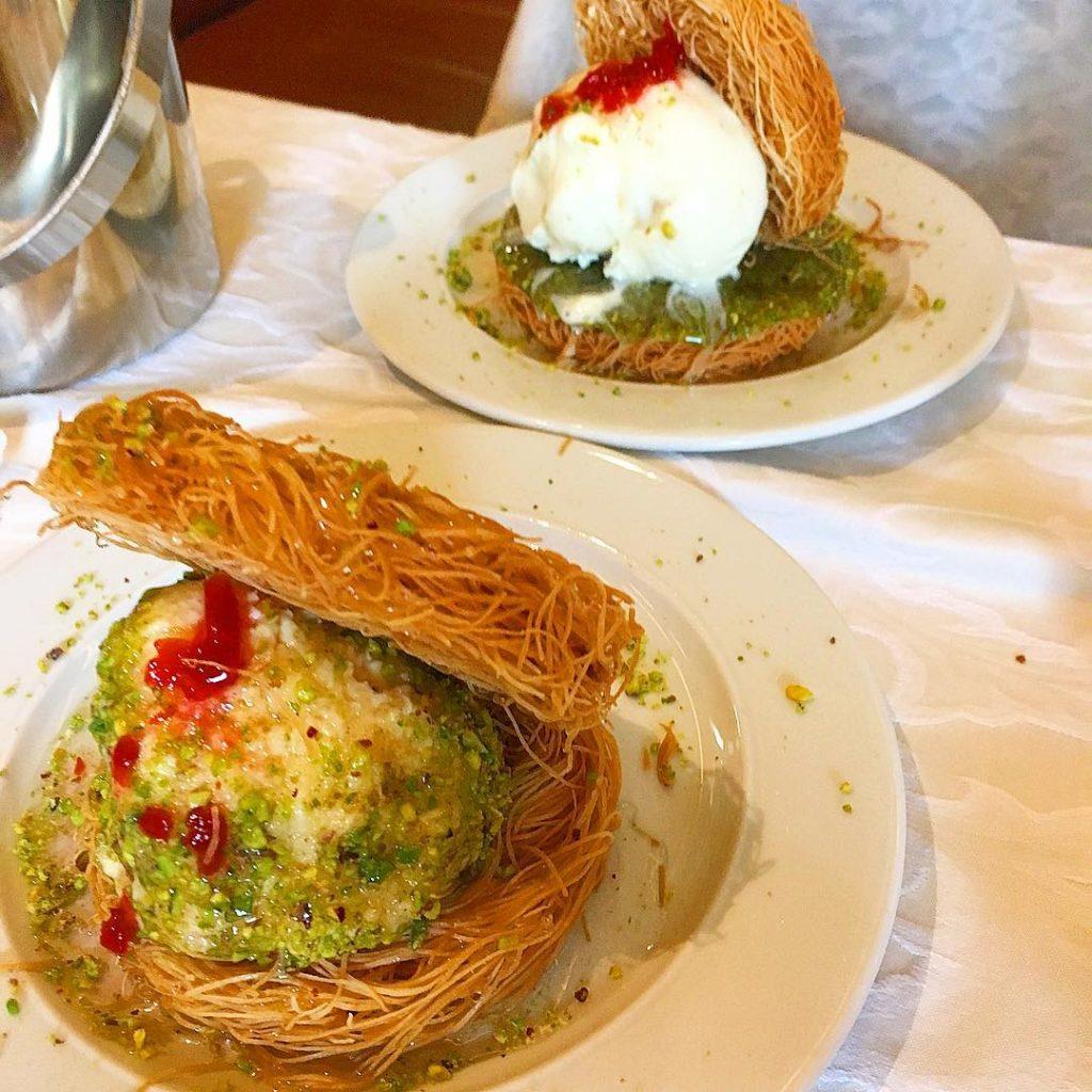 اطباق مطعم كرم بيروت