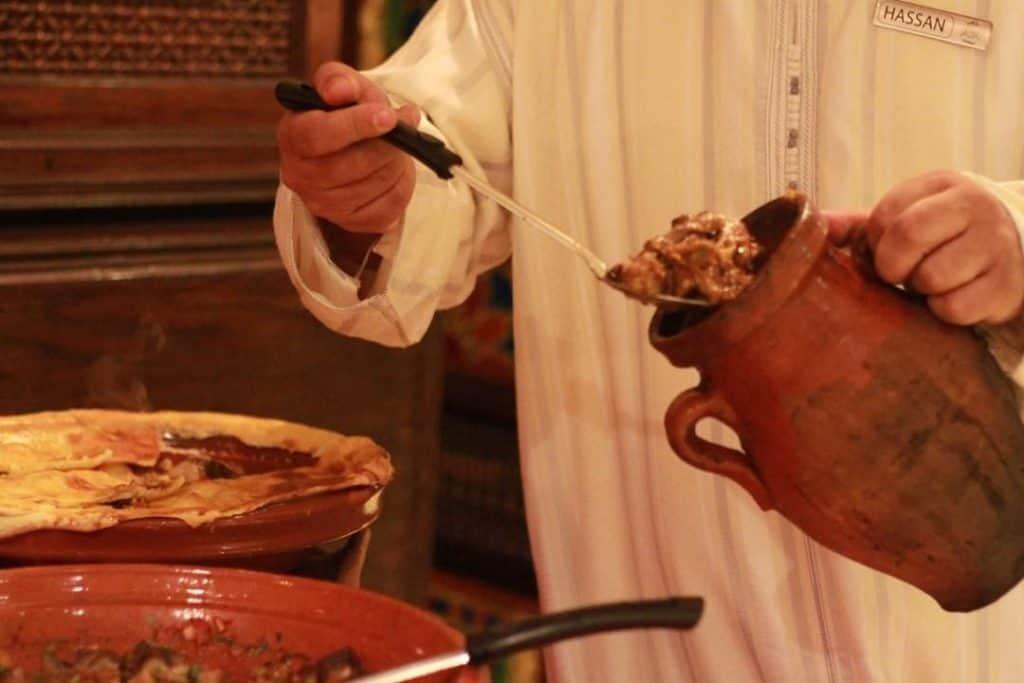مطعم شاتو مراكش المغربي
