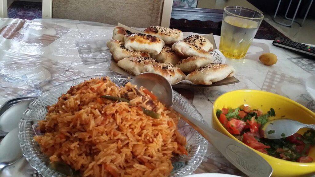 مطعم اشعاع اسيا للرز البخاري في تبوك