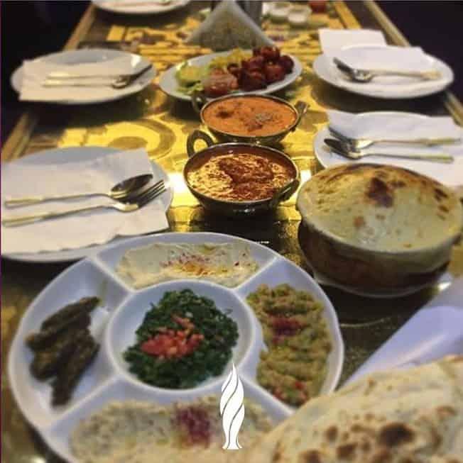 اطباق مطعم جزيرة الهند