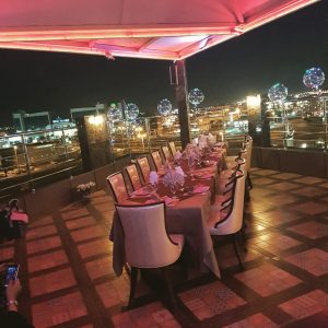 مطعم ولاونج حديث المدن