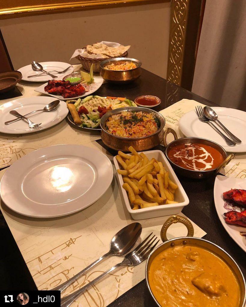 مطعم دانة الهند في الجوف