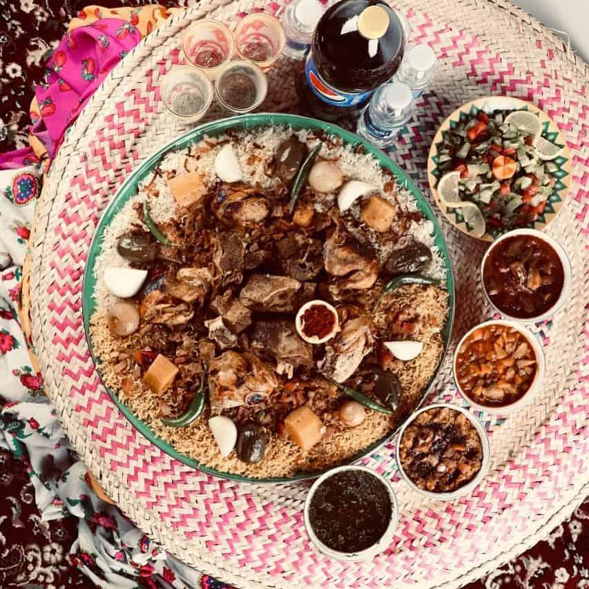 المطاعم الشعبية في الرياض