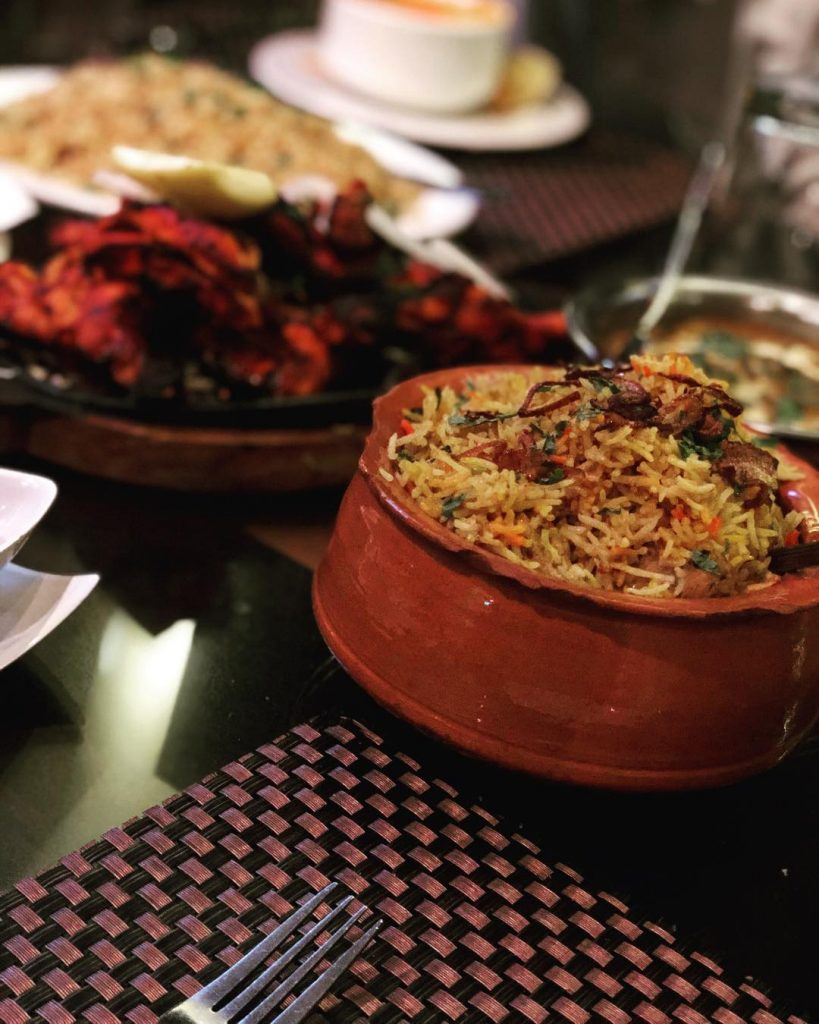 اطباق مطعم الصيف الهندي
