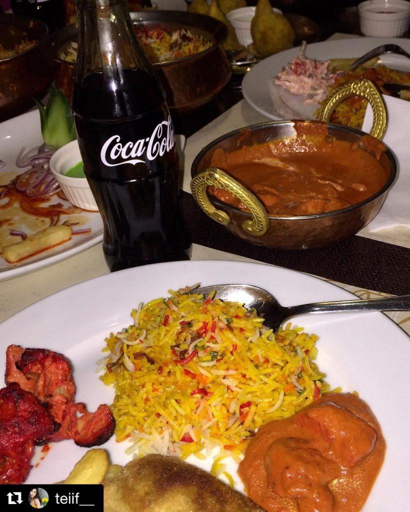 مطعم دانة الهند
