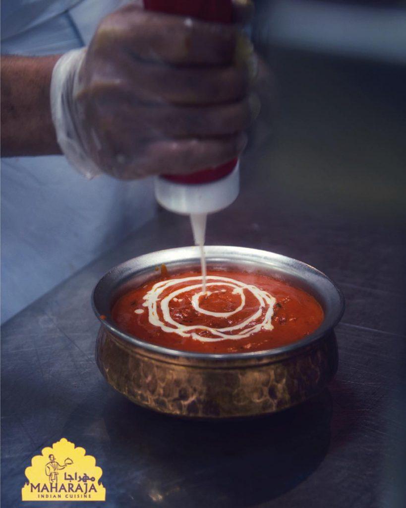 مطعم مهراجا في الجبيل