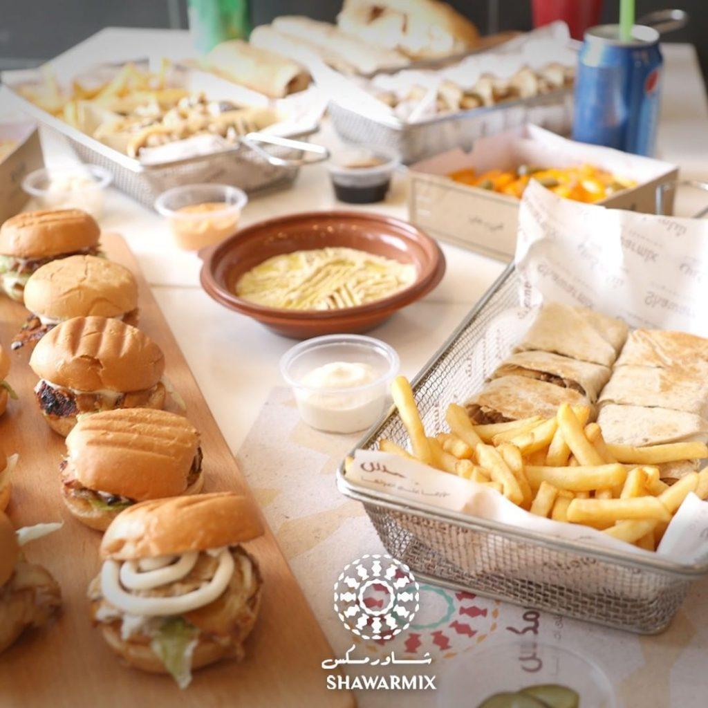 مطعم شاورمكس