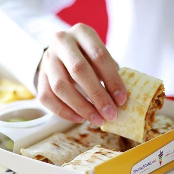 مطعم شاورما بلس