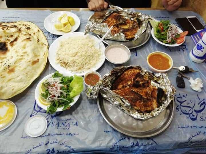 مطعم ومخبازة صنعاء القديمة فرع 2 في تبوك