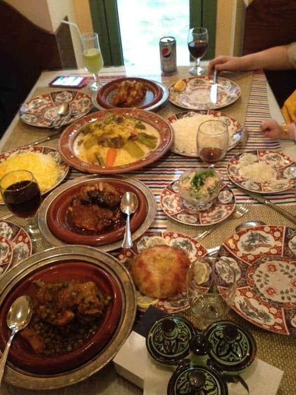 Restaurant Chateau Marrakech