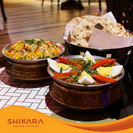 اطباق مطعم شيكارا الهندي