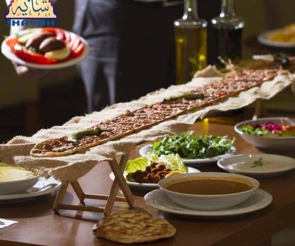 اطباق مطعم بيت الماكولات الايرانية