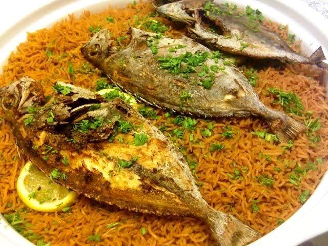 اطباق مطعم رز وسمك