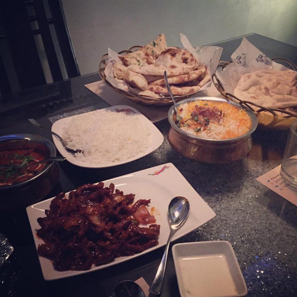 افضل المطاعم الهندية بالرياض