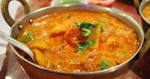 مطعم المأكولات الهندية
