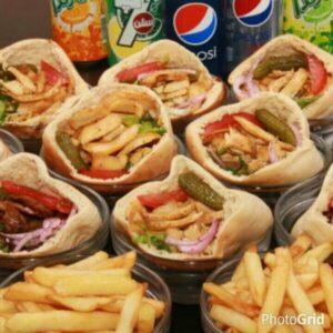 مطعم شاورما مغربي