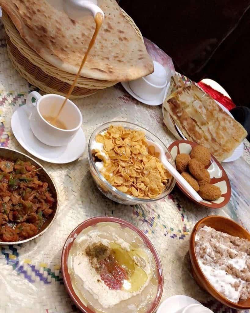 مطعم الفول الحجازي ابها
