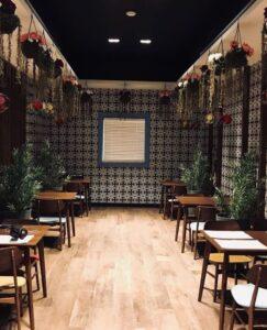 مقهي الحديقة الانجليزية