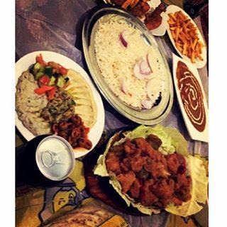 المطعم السعودي أبها