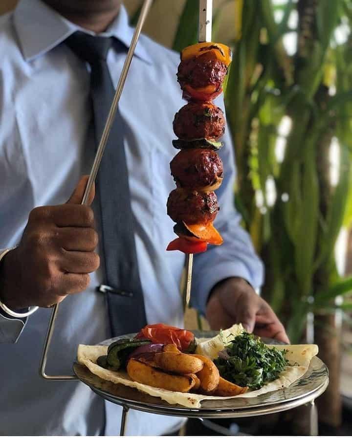 منيو مطعم بهارات