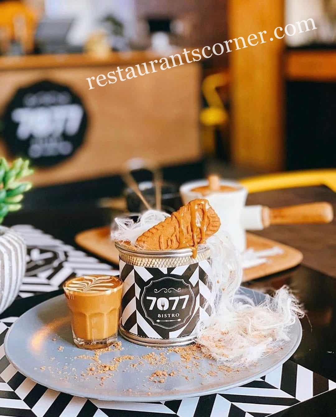 منيو مقهي بيسترو