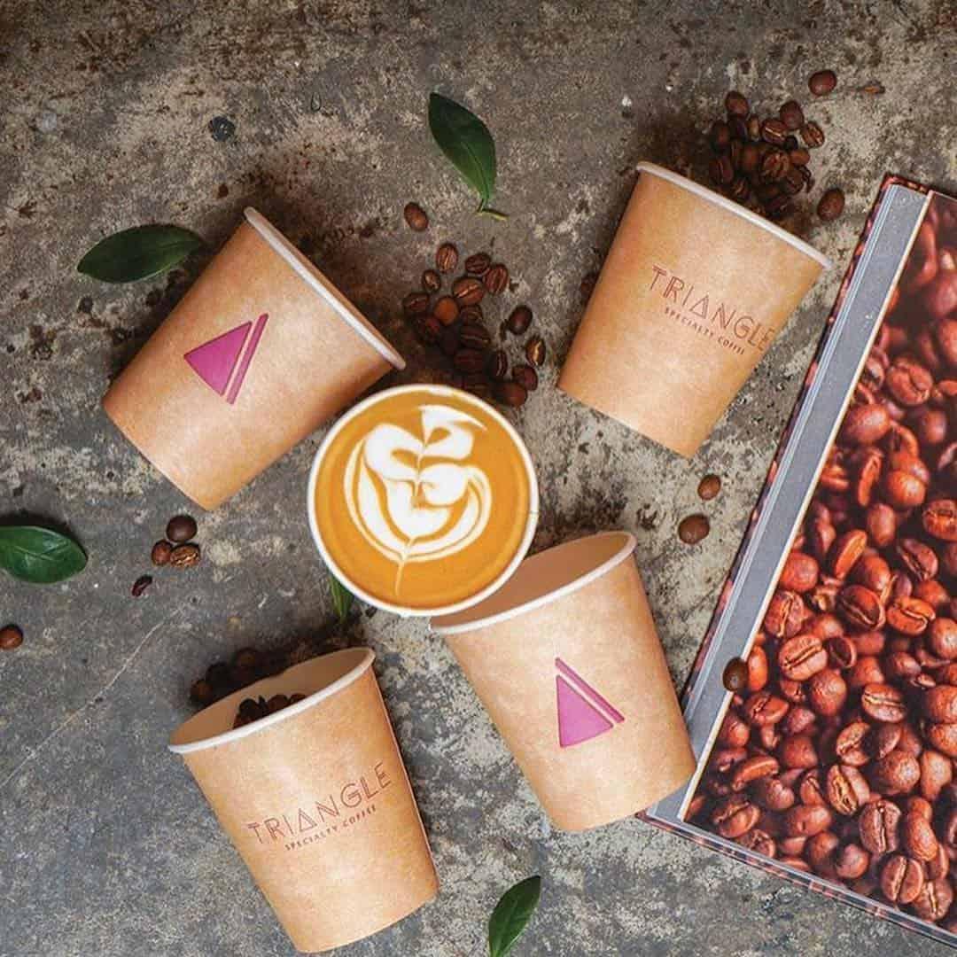 منيو مقهي قهوة مثلثة التخصصية